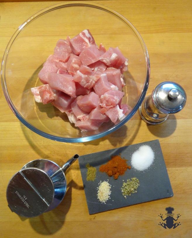 Pork marinade ingredients - easyfrenchcooking.com