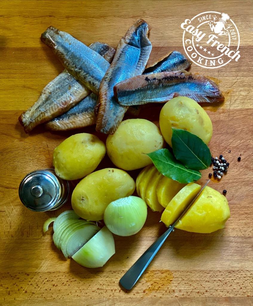 Ingredients Herring salad - easyfrenchcooking.com