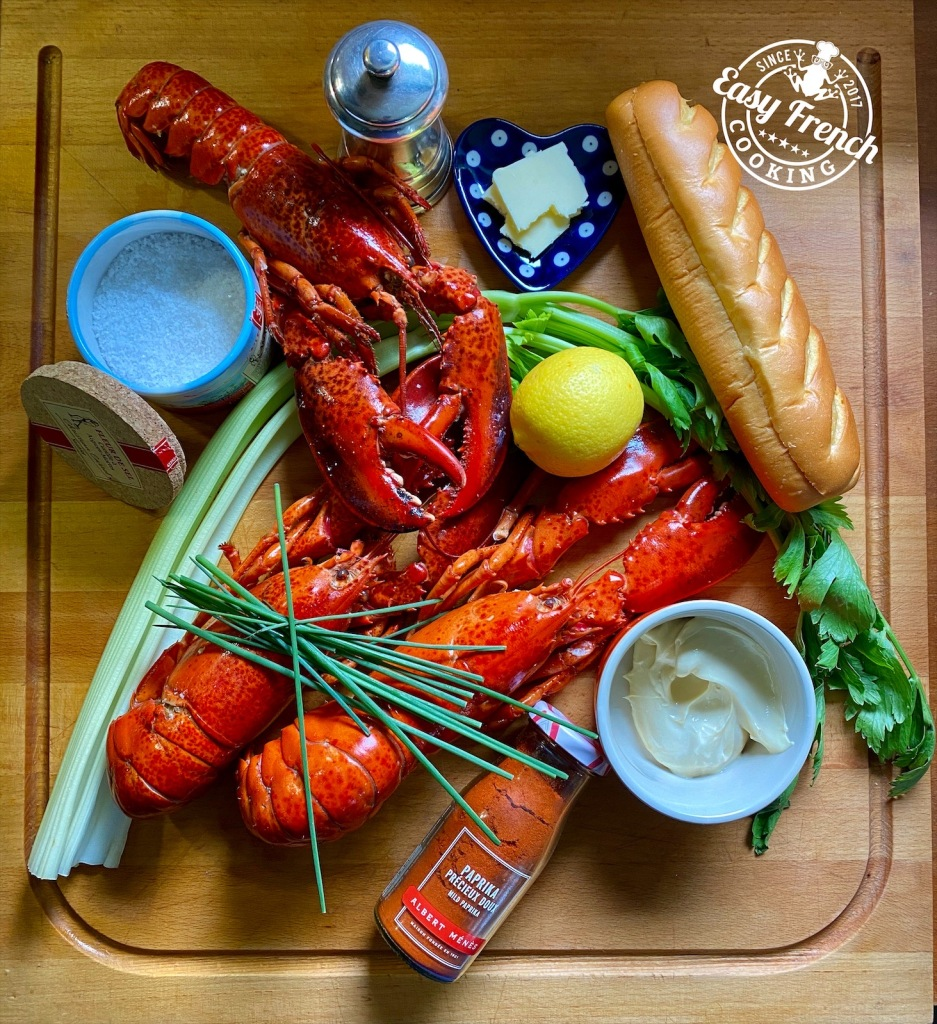 New england lobster roll ingredients - easyfrenchcooking.com