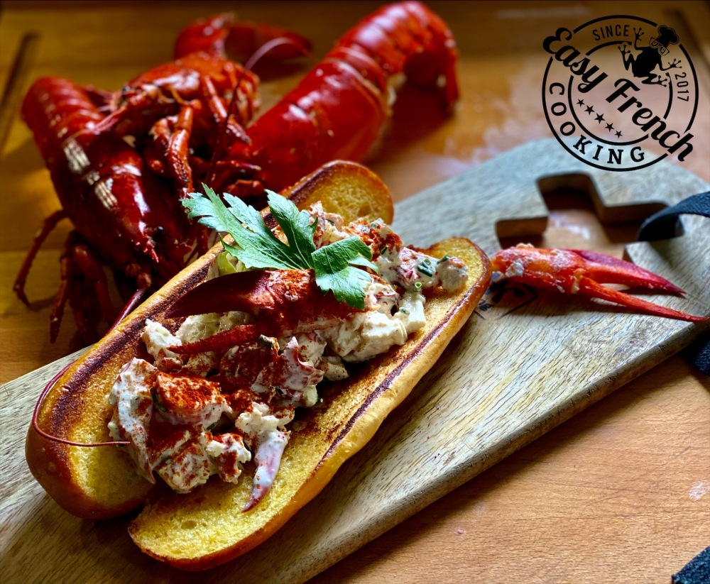 New england lobster roll 2 - easyfrenchcooking.com
